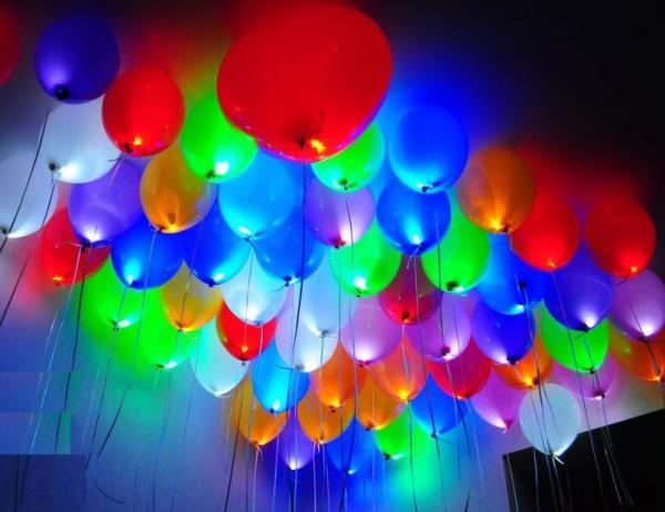 """Светящиеся шары d12"""""""
